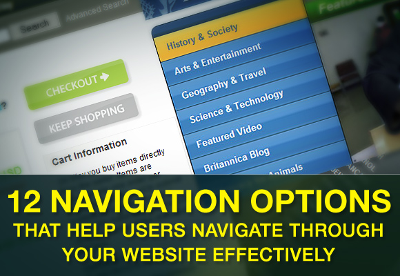 12 Navigation Options