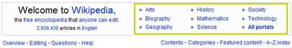 Wikipedia Navigation