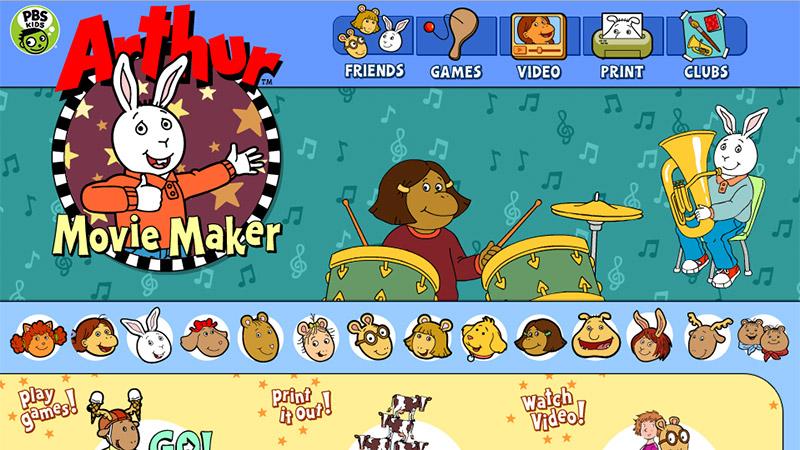 Pbskids Org Arthur Games Build A Character